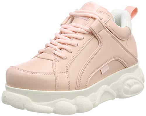 Buffalo Damen CORIN Sneaker, Rosa (Nude), 37 EU