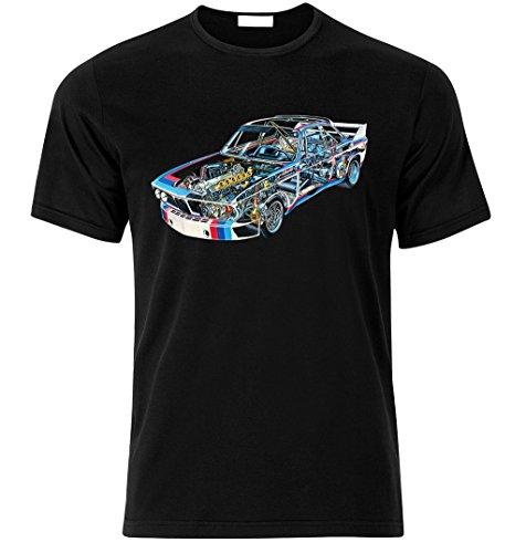 Fan Best Car Auto Fan Tuning Speed Race T-Shirt Size S-XXL (XL, SCHWARZ)