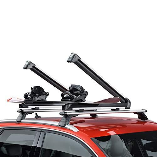Audi 4M0071129A Skihalter Snowboardhalter, ohne Ausziehfunktion, nur für Grundträger mit T-Nut Profil