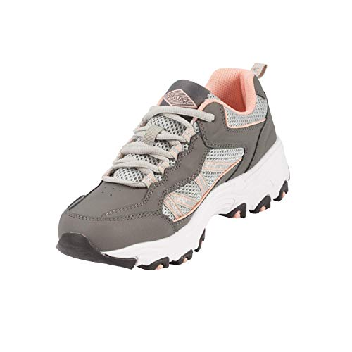 Steel Edge Walking Shoes for Women, Rubber Sole Arch...