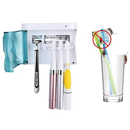 UV Tandenborstel Sanitizer Wandmontage Tandenborstelhouder sterilisator Mijn familie elektrische tandenborstel Cleaner Storage Case voor Volwassenenonderwijs Kid Tandenborstel