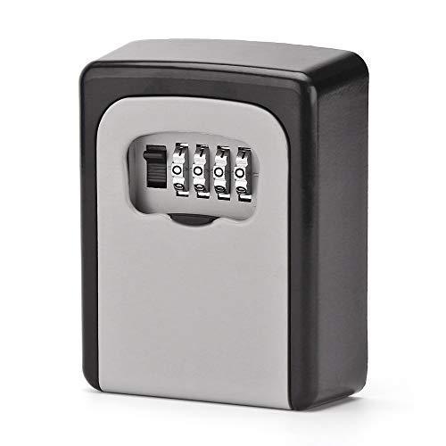ARLT KeyBOX Lock Key Caja Segura Outdoor Wall Mount Combination Password Lock Teclas Ocultadas Caja de Almacenamiento Cajas Fuertes de Seguridad para Oficina en casa (Color : As Shown)