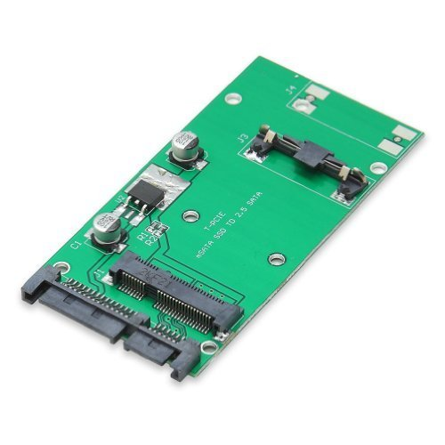 Portable, Syba 50mm mSATA SSD to 2.5-Inch SATA Converter Adapter SI-ADA40066 Consumer Electronic Gadget Shop