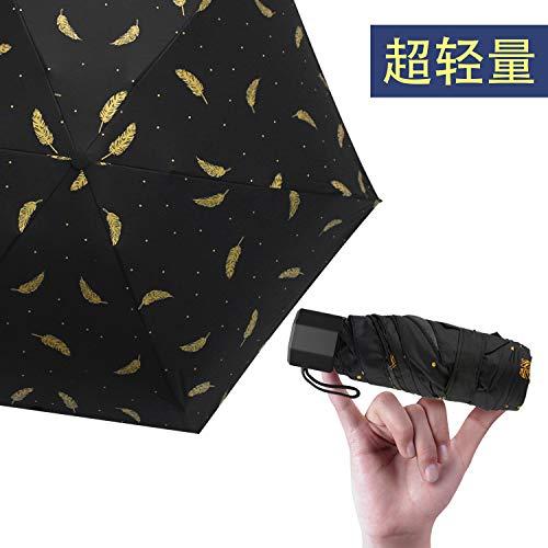 超軽量(208g) 折りたたみ 日傘 100% 完全遮光 UVカット率99% 折りたたみ傘 超耐風撥水 晴雨両用 ミニ傘 ...
