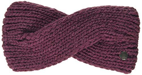 Barts Damen Yogi Headband Stirnband, Pink (0025-MAROON 025L), One Size (Herstellergröße: Uni)