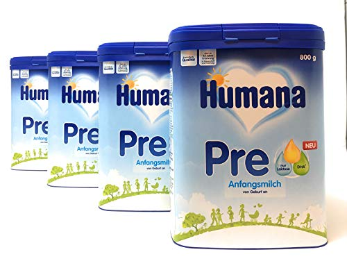 HUMANA Pre Anfangsmilch 4x800g