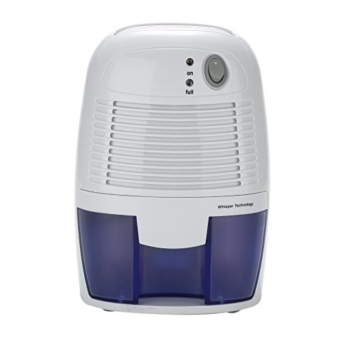 Galapara XRow-600A Ultra-Mini Semiconductor Dehumidifier, Desiccant Moisture Absorbing Air Dryer with Ultra-Quiet Peltier Technology Thermo-Electric Cooling for Wardrobe US Plug