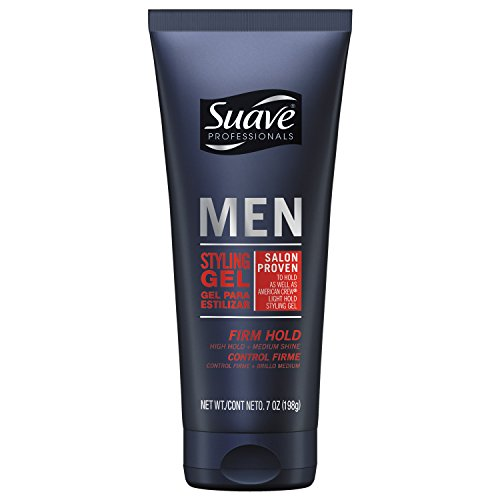 Suave Men Styling Gel, Firm Control, 7 oz