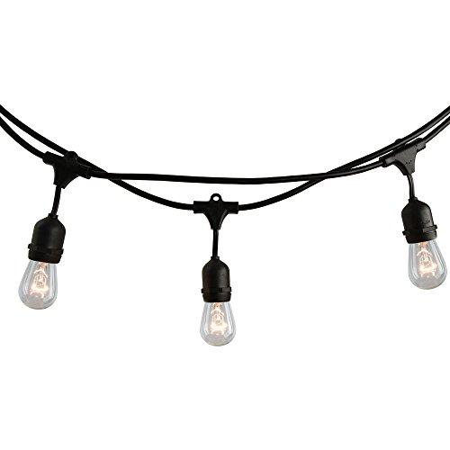 Bulbrite 810006string10/E26/black-s14kt...