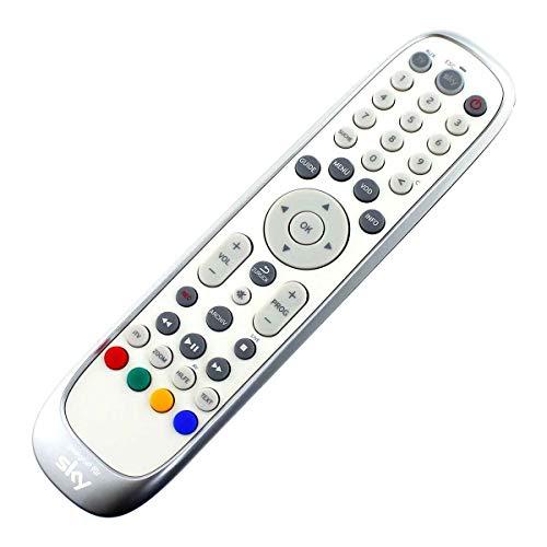 Original Fernbedienung passend für Humax Pace Sky PRC-30 | S HD3 | S HD4 Remote Control Silber - afstandsbediening, télécommande, Kumanda, Plug & Play