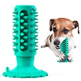 Ergouzi Dog Squeak Toy Dog Chew Toys Indestructible Tough Durable Dog Toothbrush Toys For Aggressive Chewers Dogs Dental Care Teeth Cleaning