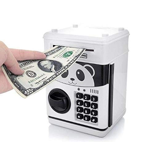 ExcLent Code Lock Electronic Piggy Banks Mini Atm Coin Bank Talking Coin Box For Children Fun Kids Gift Toy