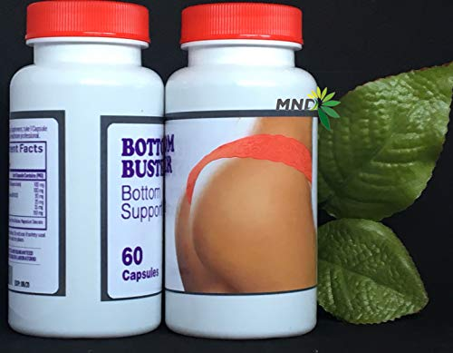 2 Bottom Buster Butt Enhancement Pills 120 Capsules Wider Bigger Gluteos Nalgas