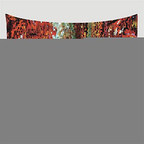 N\A Tapiz de pared con diseño de mandala, para colgar en la pared, para decoración del hogar, viajes, picnic, playa, poliéster, chal de camping, bohemio, tapiz, adornos para manualidades, regalos