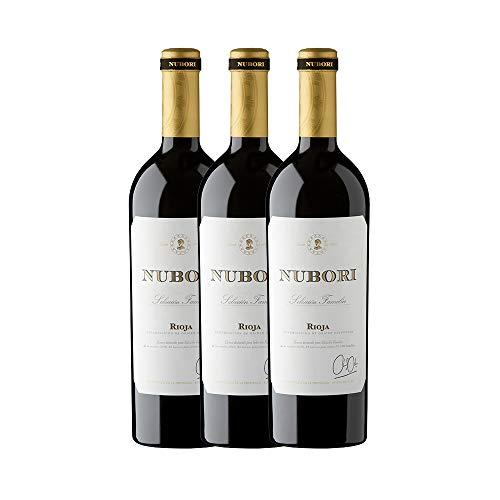 Nubori Selección de Familia D.O.Ca. Rioja - 3 Botellas de 750ml - Total: 2250 ml