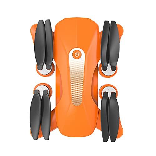 Drone con fotocamera K80 PRO Drone GPS 8K Più HD rispetto a 4K Dual HD Foto Aria Quadcopter Pieghevole senza Spazzole (Arancione)