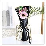 YUTRD ZCJUX. Lehrer Tag Muttertag Ewige Blume Kleines Geschenk Sternengroß Getrocknete Blume Rose Sonnenblume Seife Künstliche Mini Blumenstrauß Hochzeit (Color : Style 6)