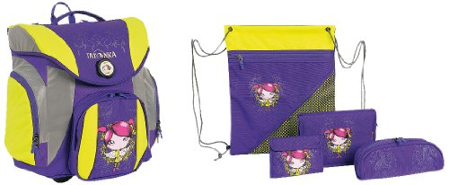 Tatonka Kinder Schulranzenset School Pack Plus Set, Angel, 38 x 33 x 21 cm, 1873