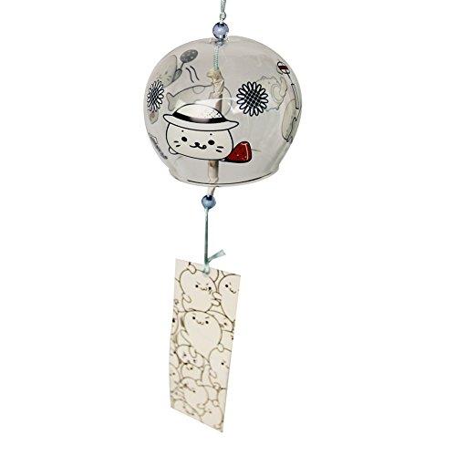ACEVER - Campanas de viento japonesas Edo Furin campanas para cumpleaños, boda, Navidad, hogar, jardín, decoración