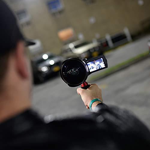 Opteka OPT-SC72FE Titanium Series 72mm 0.3X HD Super Fisheye Lens for Professional Video Camcorders