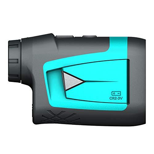 OFAY Professioneller Präzisions-Laser-Entfernungsmesser 600M Mit Neigungskompensation, Schnellem Fahnenmastverschluss, 6-Facher Vergrößerung, Entfernungs- / Winkel- / Geschwindigkeitsmessung