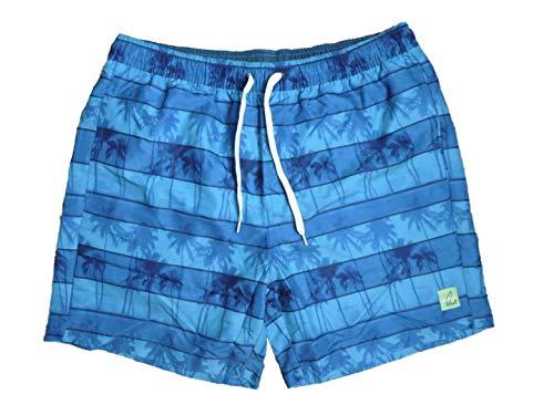 Maui Sports Herren Badeshorts Badehose Freizeitshorts Blau Grün Gr. L XL (Blau, XL)