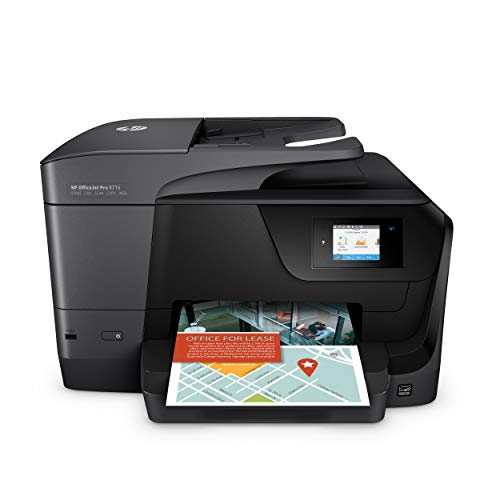 HP OfficeJet Pro 8715 Multifunktionsdrucker (Instant Ink, Drucker, Scanner, Kopierer, Fax, WLAN, LAN, Duplex, Airprint) mit 3 Probemonaten HP Instant Ink inklusive