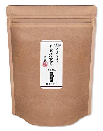 静岡県産 自家焙煎茶 香ばしい緑茶ティーバッグ 抹茶入りやすらぎ緑茶