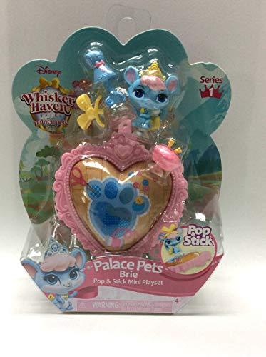 Disney Whisker Haven Tales Palace Pets Pop & Stick Mini Playset, Brie, Series 1