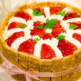 京都二条寺町ジェニアル 苺のショートケーキ 直径17cm