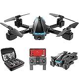 Drone plegable GPS FPV con cámara 4K HD Video en vivo para principiantes cuadricóptero RC con GPS de regreso a casa sígueme control de gestos vuelo circular desplazamiento automático y transmisi