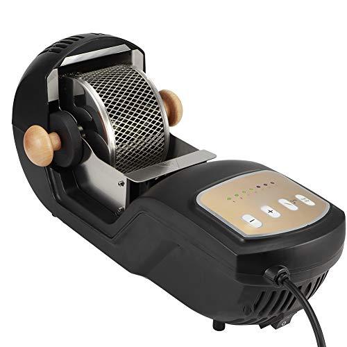 Redxiao 1500w schwarzer Kaffeeröster, vollautomatisch 7 Röstoptionen Kaffeebohnen Backmaschine, z(European Standard 230V)