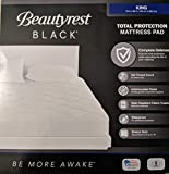 Beautyrest Black King Size Mattress Pad Total Protection