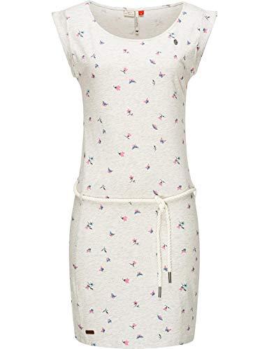 Ragwear Damen Kleid Dress Sommerkleid Strandkleid Jerseykleid Freizeitkleid Tamy Weiß20 Gr. M
