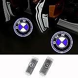 車用カーテシ LED カーテシランプ カーテシライトロゴ投影ゴーストシャ 専門カーテシライト適応2/3/4/5/6/7/x3/x5/x6 (B01, オールシリーズ)