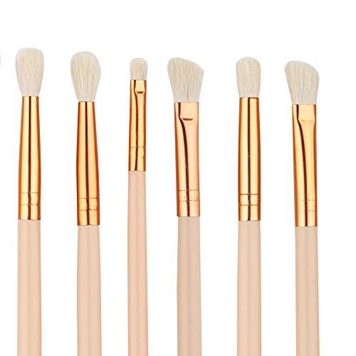 Brosse Cosmétique 12 Pinceaux De Maquillage Couleur De Peau Brune Outils De Beauté