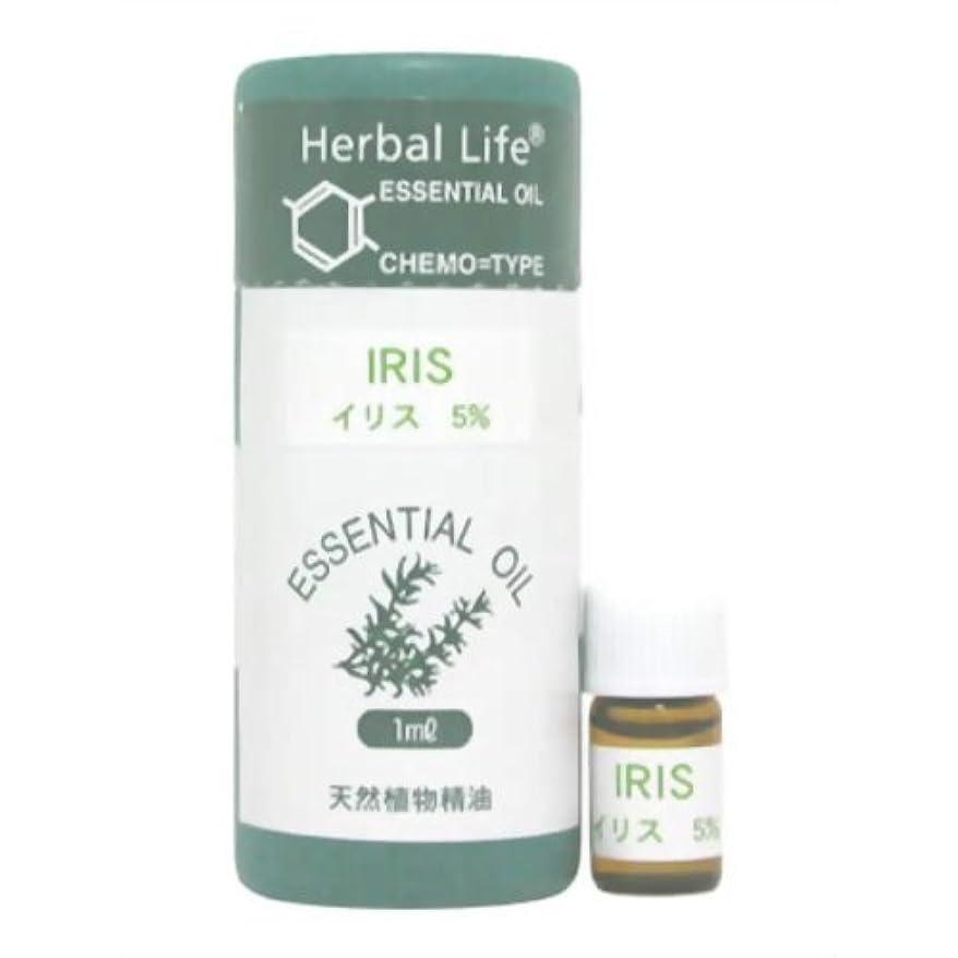 分泌するパール非難するHerbal Life イリス(5%希釈液) 1ml