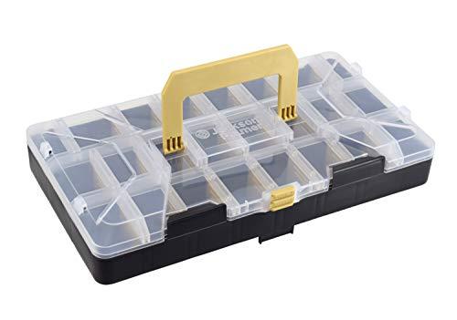 JACKSON PALMER Hardware Assortment Bin - Durable, Stackable, and Customizable Multi-Use Organizer (1 Bin)