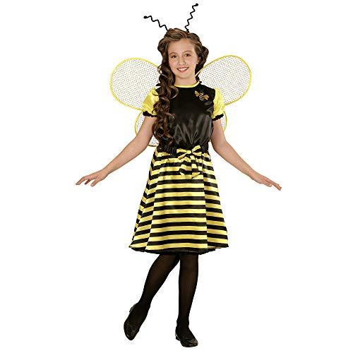 Widmann 03964 - kinderkostuum bij, jurk, onderrok, riem met strik, vleugels en sensor