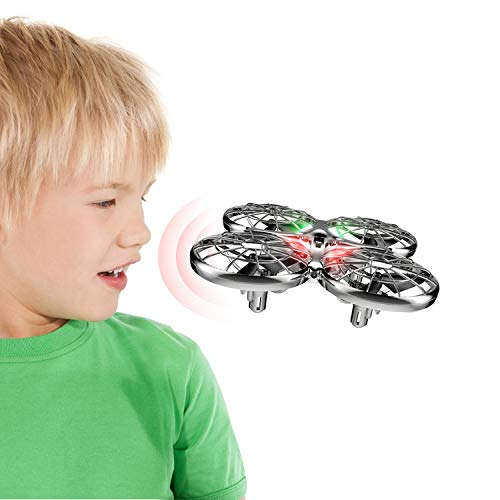 SYMA Mini Drone RC Flying Toy Drones for Kids or Adults, Hands Free Operated UFO RTF Helicopter Plane, Easy Indoor Outdoor Flying Ball Drone Toys for Boys Girls
