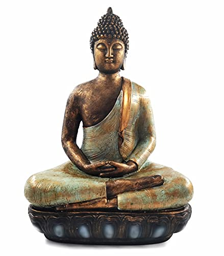 Buddha Statue for Home Decor.12 Buddha Statue (The Moment of Enlightenment) Meditation Buddha,Collectibles and Figurines,Yoga Zen Decor,Spiritual Living Room Decor,Hindu and East Asian Décor