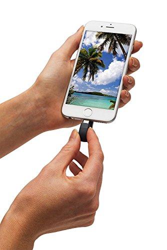 SanDisk iXpand - Memoria Flash USB de 128 GB para iPhone y iPad