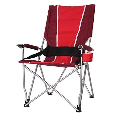 Hh001 Outdoor Camping Klappstuhl Strand Stuhl Angeln Stuhl Grill selbstfahrende Tragbare Hausgarten Tisch Und Stuhl Mit Stand Und Tragetasche (Color : B)