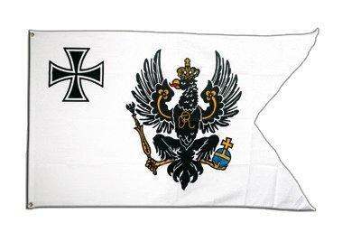 Fahne / Flagge Preußen Topflagge + gratis Sticker, Flaggenfritze®