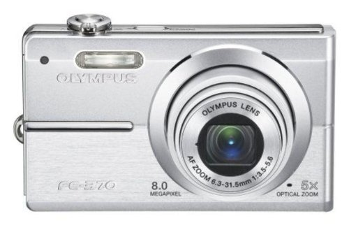 Olympus FE-370 – Digitale Kompaktkamera (8.5 MP 2.7 Zoll LCD, 5 x optischer Zoom)