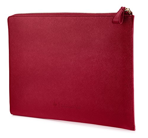 "HP Spectre 13.3"" Split Leather Sleeve Sacoche d'ordinateurs Portables 33,8 cm (13.3"") Housse Rouge - Sacoches d'ordinateurs Portables (Housse, 33,8 cm (13.3""), 360 g, Rouge)"