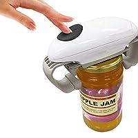 Apriscatole automatico, apriscatole, apribottiglie elettrico, utensile da cucina