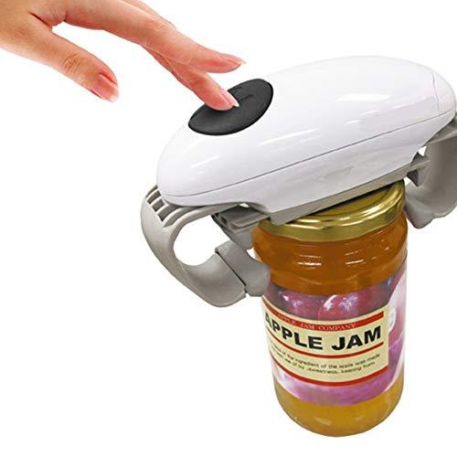 Apriscatole automatico apriscatole automatico apriscatole in scatola apribottiglie elettrico apribottiglie, apriscatole da cucina gadget strumenti