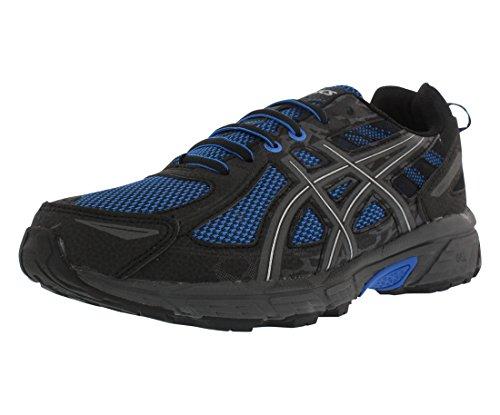 Asics - Gel-Venture 6 - Zapatillas deportivas de hombre para correr, Azul (Victoria Azul/Azul/Negro), 43 EU