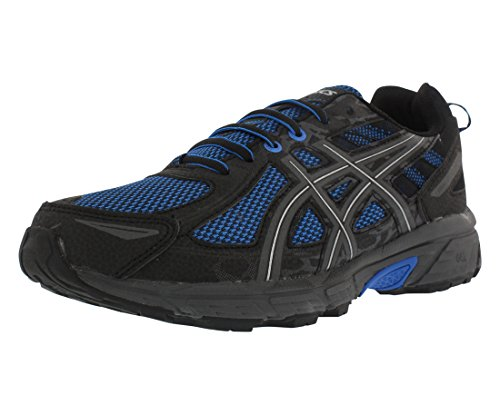 ASICS Mens Gel-Venture 6 Running Shoe, Victra Blue/Blue/Black, 9.5 D(M) US